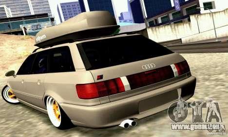 Audi RS2 Avant Thug pour GTA San Andreas sur la vue arrière gauche