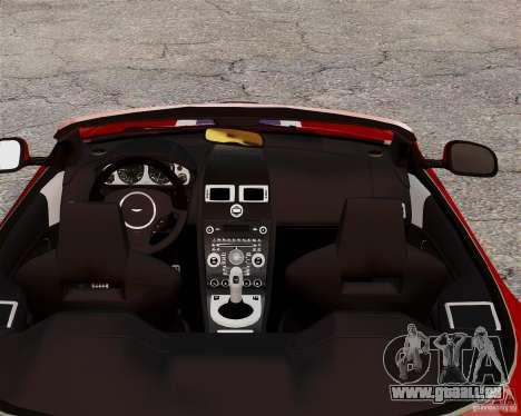 Aston Martin DBS Volante 2010 v1.5 Bonus Version für GTA 4 Rückansicht