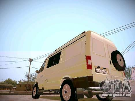 GAZ 2217 Business für GTA San Andreas rechten Ansicht