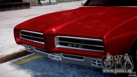 Pontiac GTO 1965 v1.1 pour GTA 4 roues