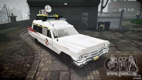 Cadillac Ghostbusters für GTA 4 rechte Ansicht