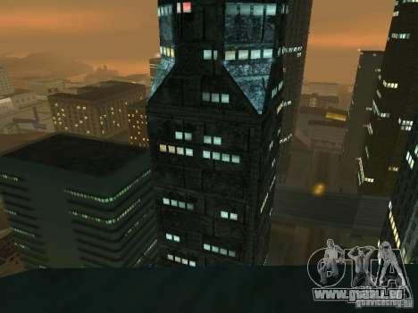 Nouveaux gratte-ciels de textures LS pour GTA San Andreas cinquième écran