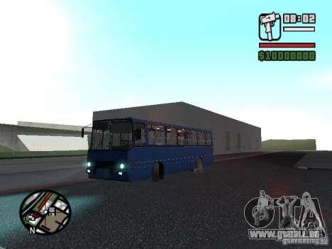 Ikarus 260.51 pour GTA San Andreas vue intérieure
