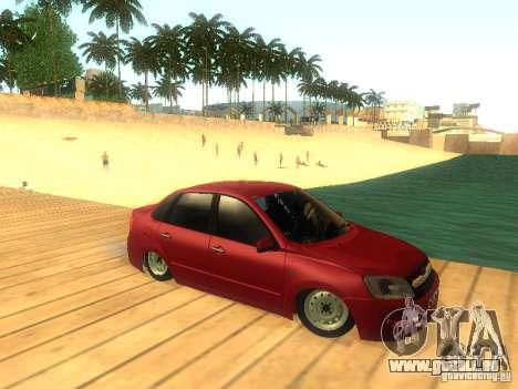Lada Granta für GTA San Andreas Seitenansicht