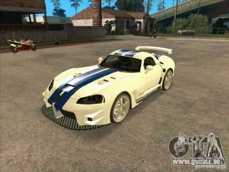 Dodge Viper from MW pour GTA San Andreas