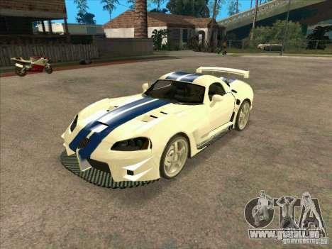 Dodge Viper from MW für GTA San Andreas