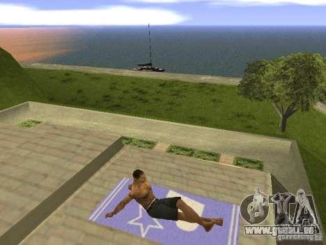 Natte de repos pour GTA San Andreas quatrième écran