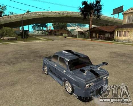 AZLK 2140 SX-Tuned pour GTA San Andreas laissé vue