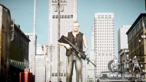 Merle Dixon pour GTA 4 troisième écran