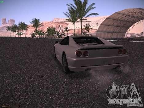 Ferrari F355 Targa pour GTA San Andreas vue de droite