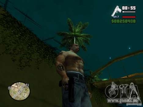 Carbon Desert Eagle pour GTA San Andreas troisième écran