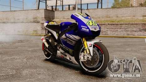 Yamaha YZR-M1 für GTA 4
