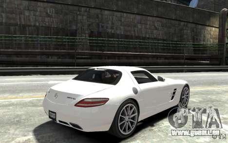 Mercedes-Benz SLS AMG 2011 v3.0 für GTA 4 rechte Ansicht