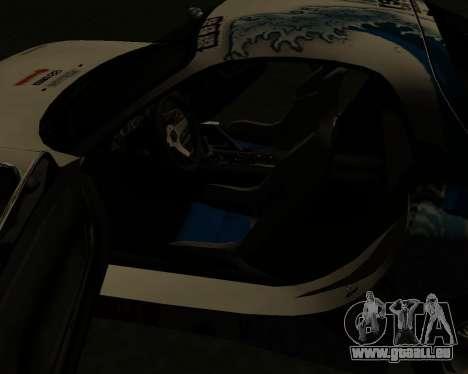 Mazda RX7 für GTA San Andreas Unteransicht