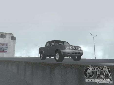 Nissan Frontier pour GTA San Andreas vue de droite