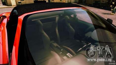 Ferrari 430 Spyder v1.5 pour GTA 4 vue de dessus