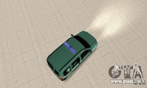 Renault Kangoo Straz Graniczna pour GTA San Andreas sur la vue arrière gauche