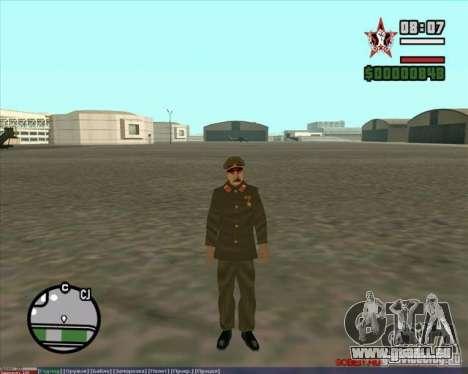 Staline pour GTA San Andreas quatrième écran