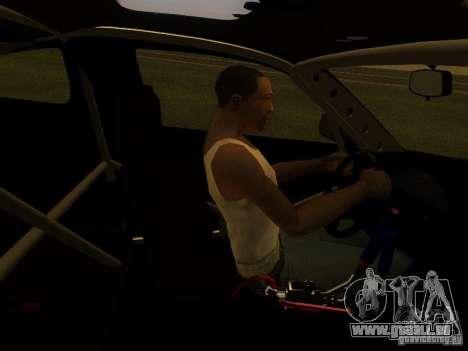 Nissan 240sx Street Drift für GTA San Andreas Seitenansicht