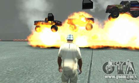 Die Atombombe für GTA San Andreas dritten Screenshot