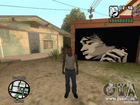 Neue Startseite Džonsonov für GTA San Andreas
