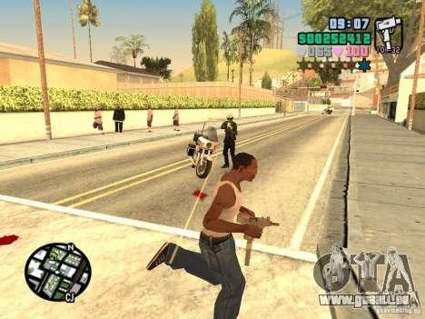 Vice City Hud für GTA San Andreas fünften Screenshot