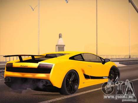 Orange ENB by NF v1 pour GTA San Andreas deuxième écran