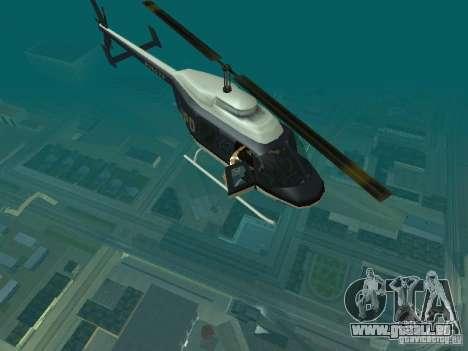 Helicopter Grab v1.0 pour GTA San Andreas deuxième écran
