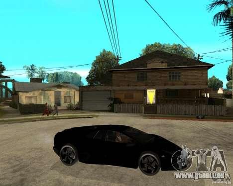Lamborghini Reventon pour GTA San Andreas vue de droite