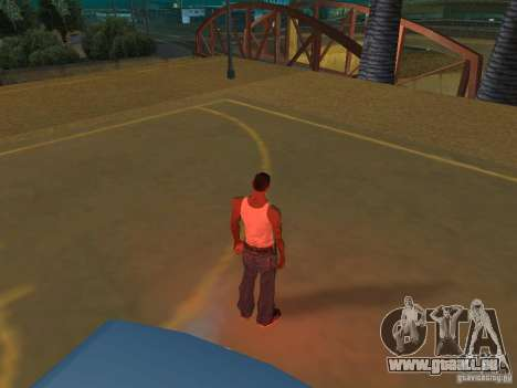 IVLM 2.0 TEST №3 pour GTA San Andreas troisième écran