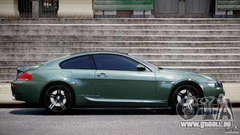 BMW M6 2010 v1.5 pour GTA 4 est une gauche