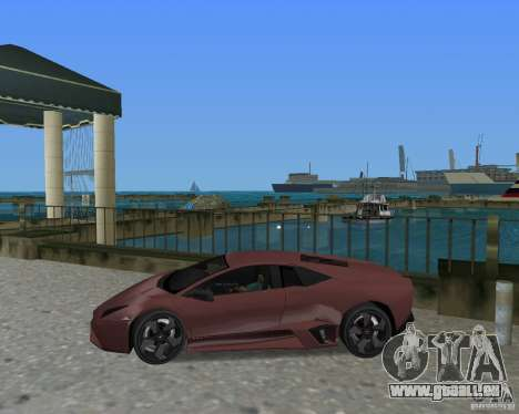 Lamborghini Reventon für GTA Vice City rechten Ansicht