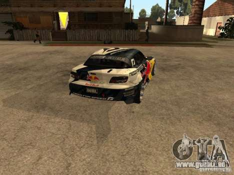Mazda RX-8 RedBull pour GTA San Andreas sur la vue arrière gauche