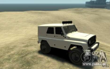 UAZ Hunter final pour GTA 4 est un droit