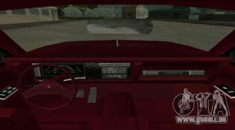 Century Nebula pour GTA San Andreas sur la vue arrière gauche