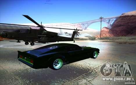 Ford Mustang RTR Drift für GTA San Andreas rechten Ansicht