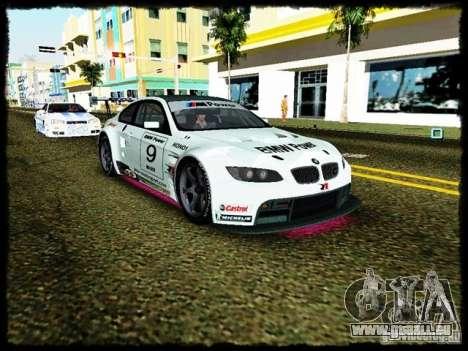 BMW M3 GT2 pour GTA Vice City vue arrière