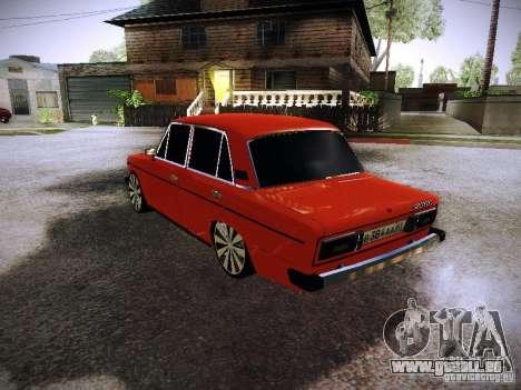 VAZ 2106 Fanta pour GTA San Andreas sur la vue arrière gauche
