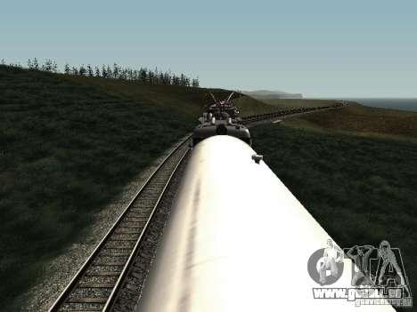 Refrežiratornyj wagon Dessau no 2 pour GTA San Andreas vue intérieure