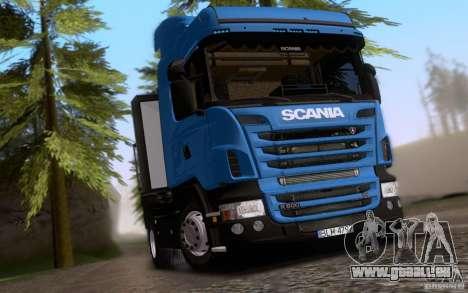 Scania R500 pour GTA San Andreas vue de droite