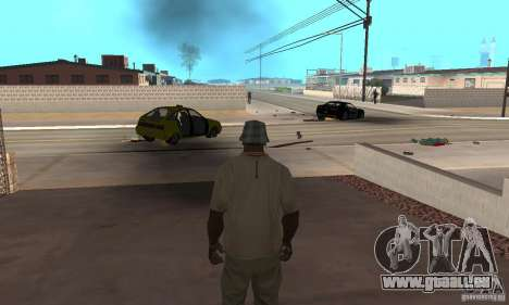 Hot adrenaline effects v1.0 für GTA San Andreas