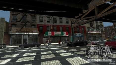 Puglia Pizza in Brook für GTA 4 Sekunden Bildschirm