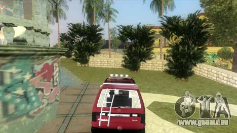 Toyota Town Ace-Tuning für GTA Vice City linke Ansicht