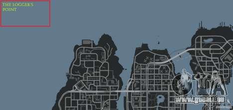 The Loggers Point für GTA 4 elften Screenshot