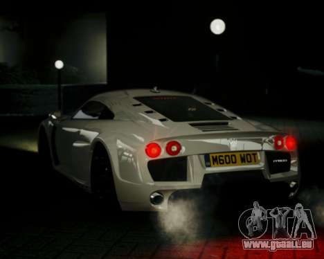 Noble M600 2010 pour GTA 4 est un droit
