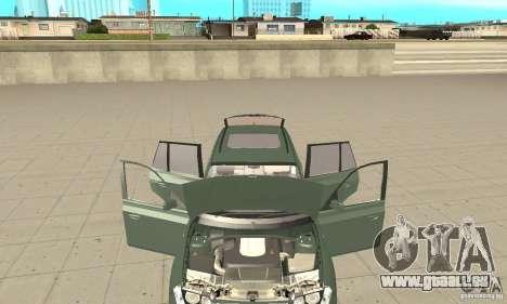 BMW X3 2.5i 2003 pour GTA San Andreas vue intérieure