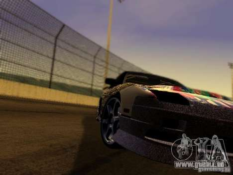 Nissan 240sx Street Drift für GTA San Andreas Rückansicht