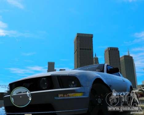Ford Mustang GT 2005 v1.2 pour GTA 4 est un droit
