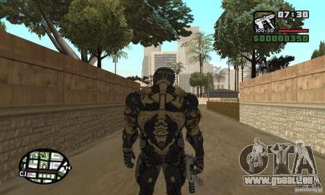 Crysis skin pour GTA San Andreas cinquième écran