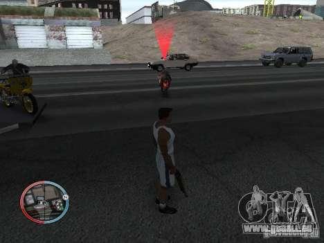 SUPER BIKE MOD pour GTA San Andreas cinquième écran